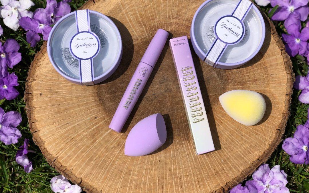 💜 REVIEW : MASCARA » ABRACADABRA » de chez Djulicious Cosmetics + leurs éponges ! 💜