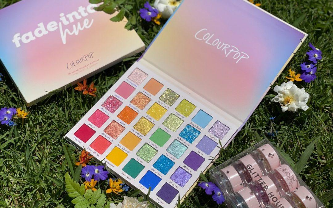 🌈 REVIEW : » FADE INTO HUE » palette ColourPop Cosmetics 🌈