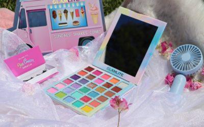 🍨 REVIEW » ICE CREAM » palette GLAMLITE COSMETICS 🍨