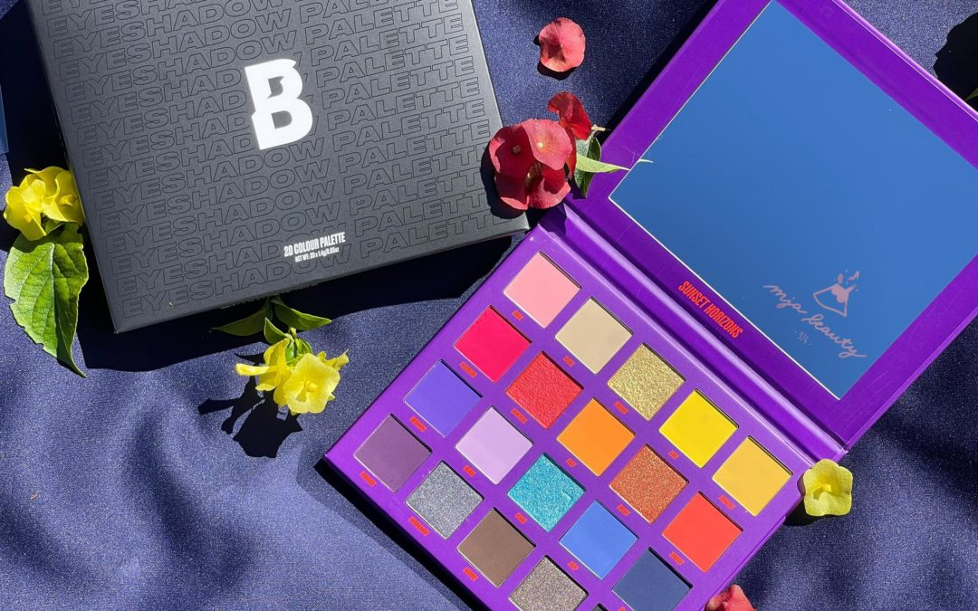 🌞 REVIEW : » SUNSET HORIZONS » palette By BEAUTYBAY 🌞